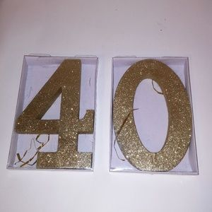 40th Birthday Party Decorations